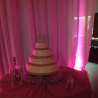 Brides Cake with Bling