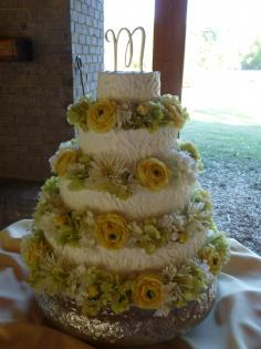 Wedding cake at Lanark in Millbrook