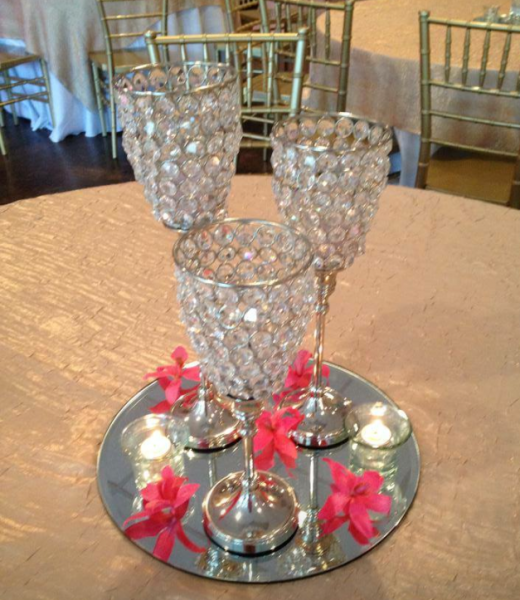 "Set includes: 1-14"", 1-12"" & 1-10.5"" candle holder.