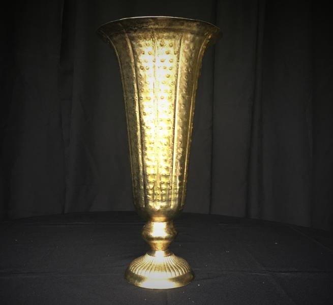 "8-Footed Vases w/Flared Rim Available 8"" D x 16.75"" H @ $18/each.