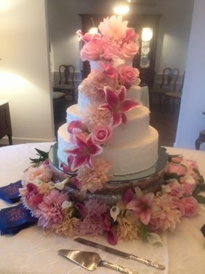Pam's Incredible Edibles Wedding Cake